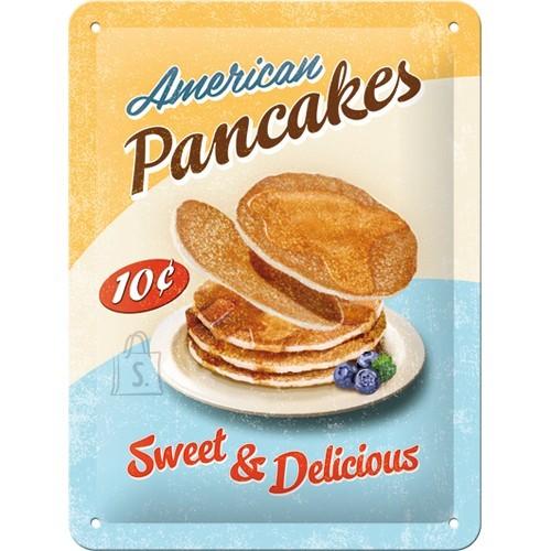 NostalgicArt metallplaat American Pancakes