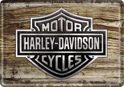 NostalgicArt metallist postkaart Harley-Davidson puittaust