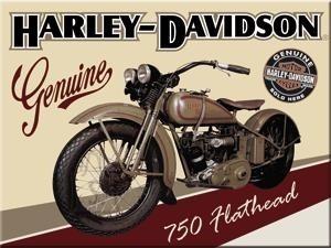 NostalgicArt magnet Harley-Davidson 750 Flathead