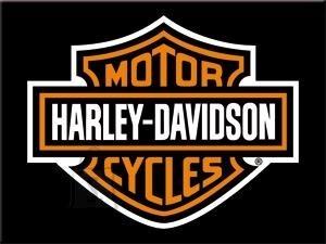 NostalgicArt magnet Harley-Davidson logo