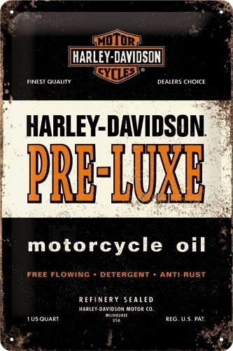 NostalgicArt metallplaat Harley-Davidson Pre-Luxe