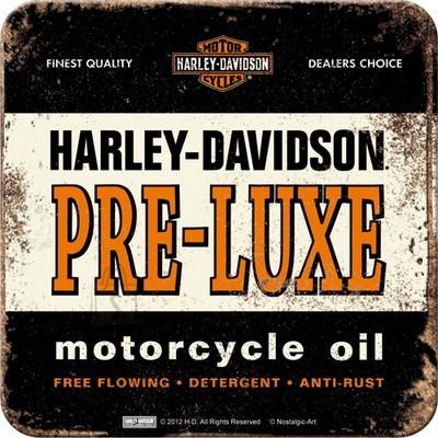 NostalgicArt retro klaasialus Harley-Davidson Pre-Luxe must