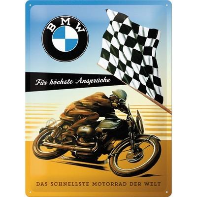NostalgicArt metallplaat BMW Für höchste Ansprüche