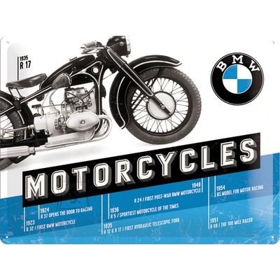 NostalgicArt metallplaat BMW Motorcycles R 17