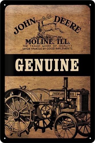NostalgicArt metallplaat John Deere Genuine