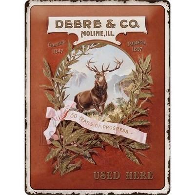 NostalgicArt metallplaat John Deere Deere & Co
