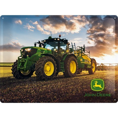 NostalgicArt metallplaat John Deere Photo Model 6150 R