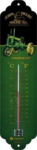 NostalgicArt termomeeter John Deere Nothing Runs Like a Deere