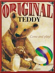 NostalgicArt magnet Original Teddy