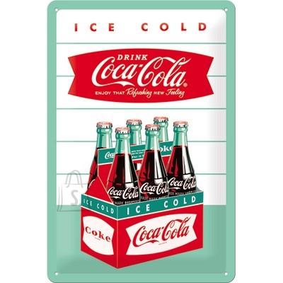 NostalgicArt metallplaat Coca-Cola Ice cold