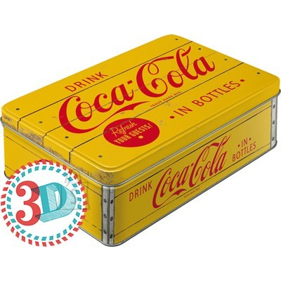 NostalgicArt Metallist säilituskarp Coca-Cola in bottles 2.5L