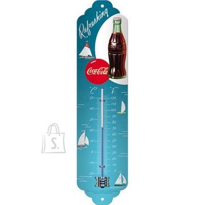 NostalgicArt termomeeter Coca-Cola Refreshing