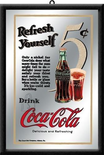 NostalgicArt reklaampeegel Coca-Cola Refresh Yourself
