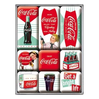 NostalgicArt magnetite sari Coca-Cola Get a bright lift 9tk
