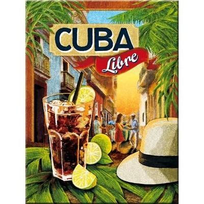 NostalgicArt magnet Cuba Libre