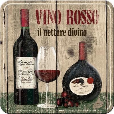 NostalgicArt retro klaasialus Vino Rosso