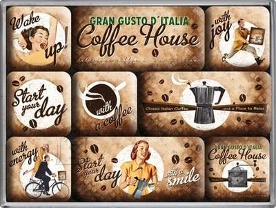 NostalgicArt magnetite sari Coffee House 9tk