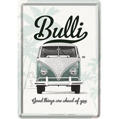 NostalgicArt metallist postkaart VW Bulli