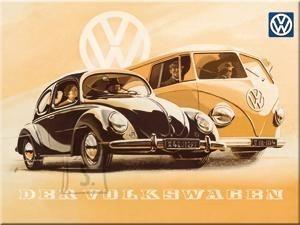 NostalgicArt magnet VW Der Volkswagen