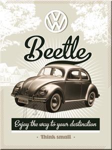 NostalgicArt magnet VW Beetle
