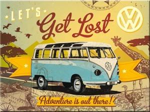 NostalgicArt magnet VW Let's get lost