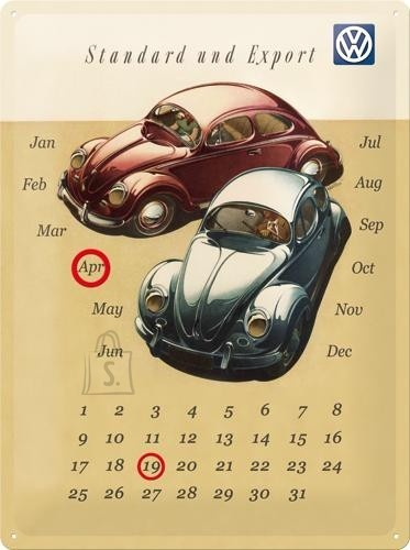 NostalgicArt retro stiilis kalender Standard und Export