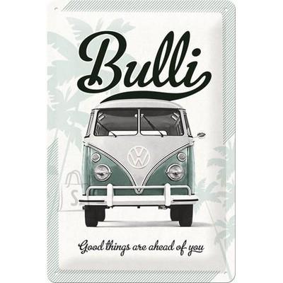 NostalgicArt metallplaat VW Bulli Good things are ahead of you