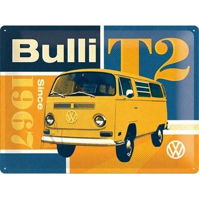 NostalgicArt metallplaat VW Bulli T2