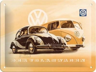 NostalgicArt metallplaat VW Der Wolkswagen