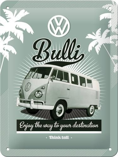 NostalgicArt metallplaat VW Bulli