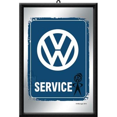 NostalgicArt reklaampeegel VW Service