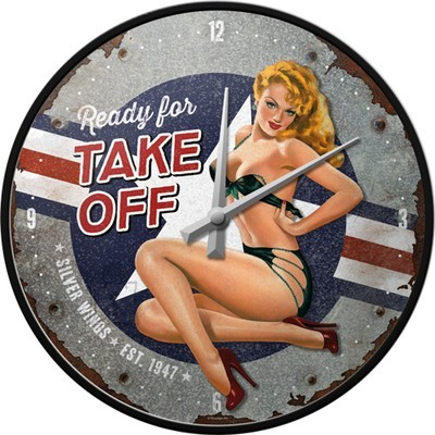 NostalgicArt seinakell Pin Up Ready for take off