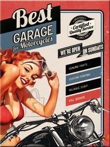 NostalgicArt magnet Best Garage