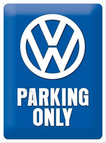 NostalgicArt metallplaat VW Parking Only