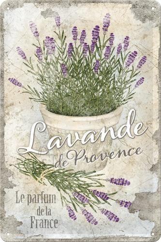 NostalgicArt metallplaat Lavande de Provence
