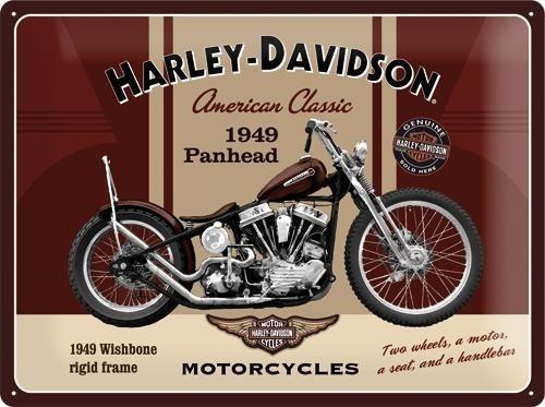 NostalgicArt metallplaat Harley-Davidson Panhead
