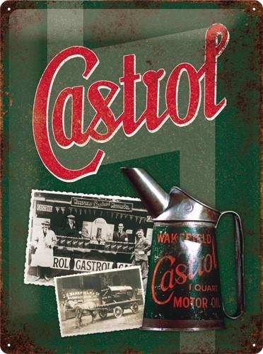 NostalgicArt metallplaat Castrol