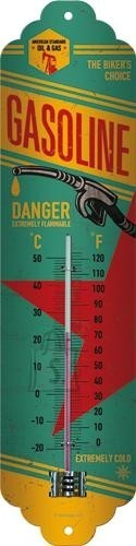 NostalgicArt termomeeter Gasoline