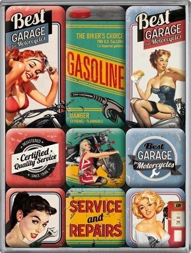 NostalgicArt magnetite sari Best Garage 9tk