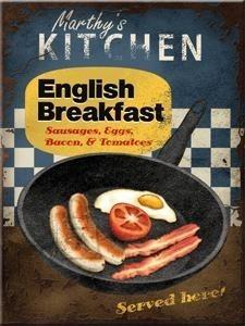 NostalgicArt magnet English Breakfast