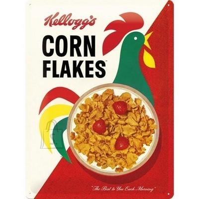 NostalgicArt metallplaat Kellogg's Corn Flakes Cornelius