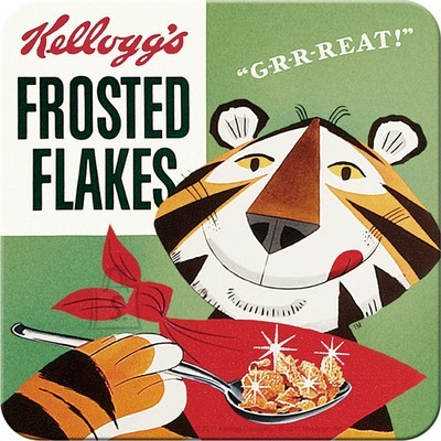 NostalgicArt retro klaasialus Kellogg's Frosted Flakes Tony Tiger 1 tk