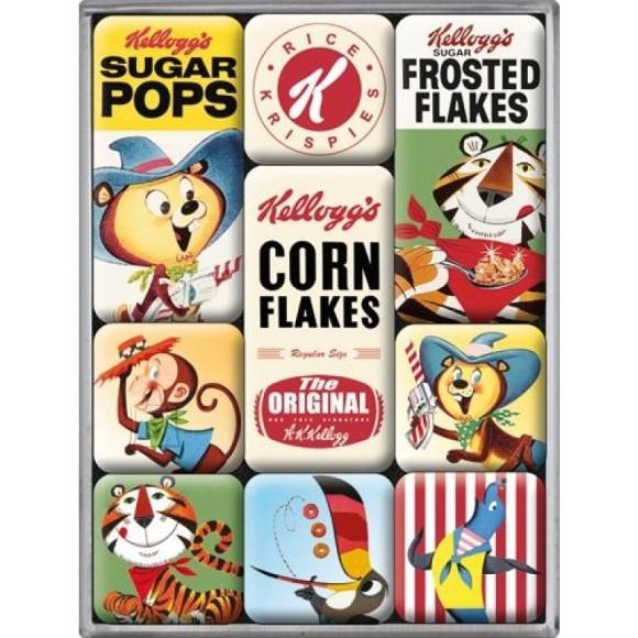 NostalgicArt magnetite sari Kellogg's Corn Flakes 9 tk