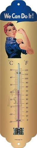 NostalgicArt termomeeter We can do it!