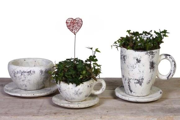 LaVida tassikujuline lillepott Poldi erinevad suurused