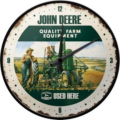 NostalgicArt seinakell John Deere Quality Farm Equipment