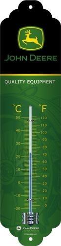 NostalgicArt termomeeter John Deere logo