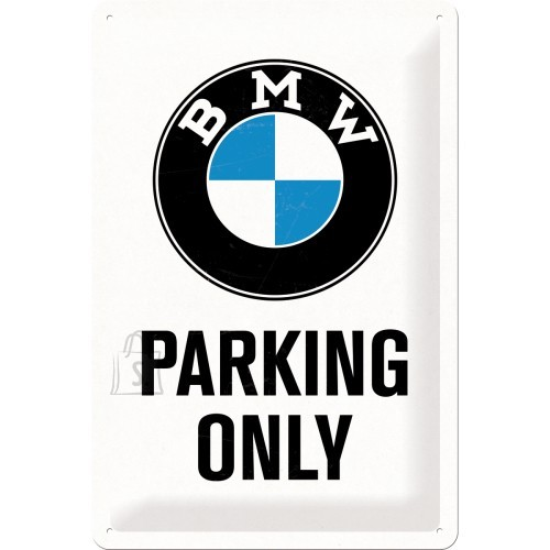 NostalgicArt metallplaat BMW Parking Only