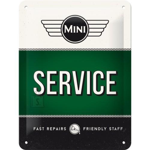 NostalgicArt Metallplaat 15x20cm / Mini Service