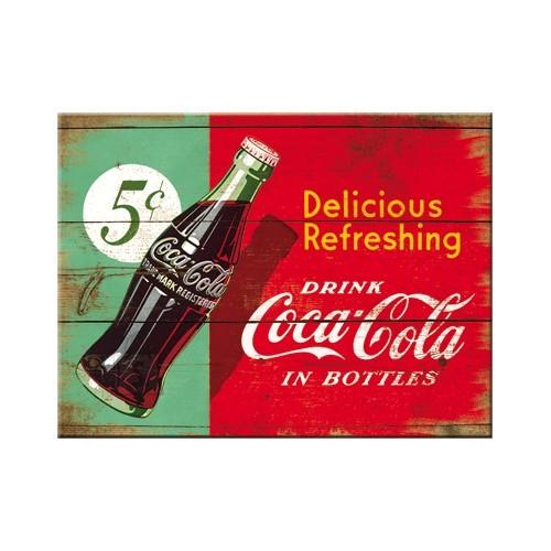 NostalgicArt Magnet / Coca-Cola Delicious Refreshing